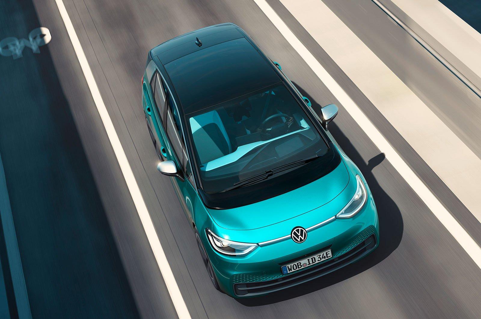 2020 Volkswagen ID roof
