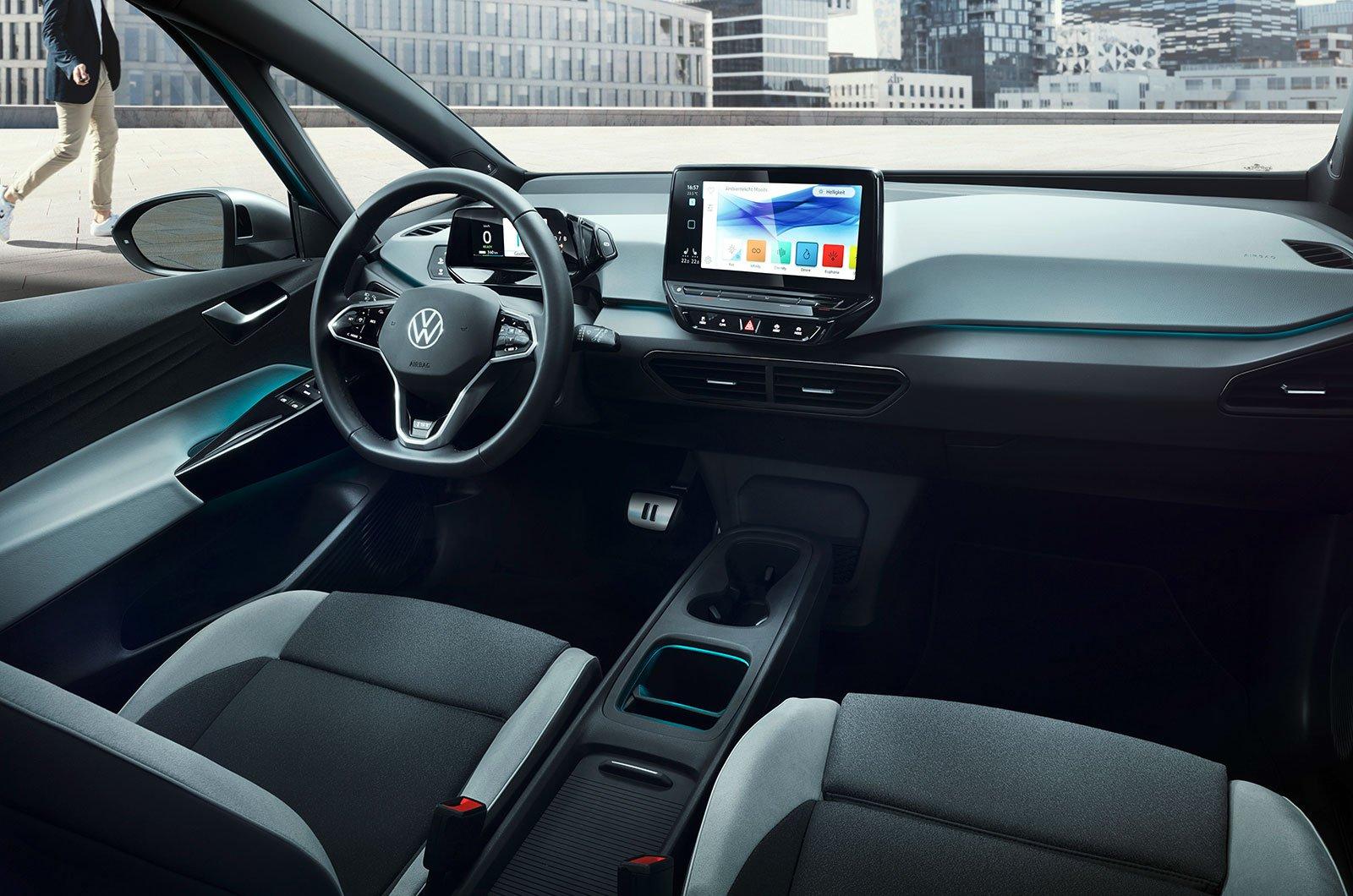 2020 Volkswagen ID 3 interior