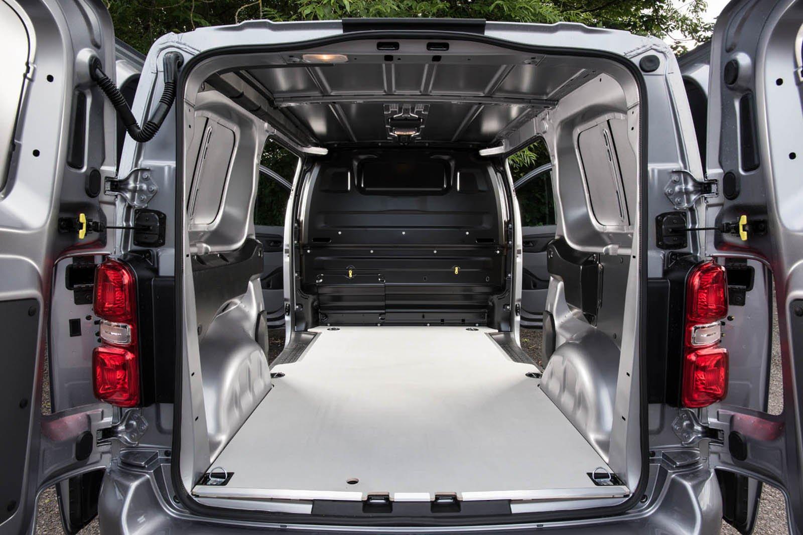 Vauxhall Vivaro load area
