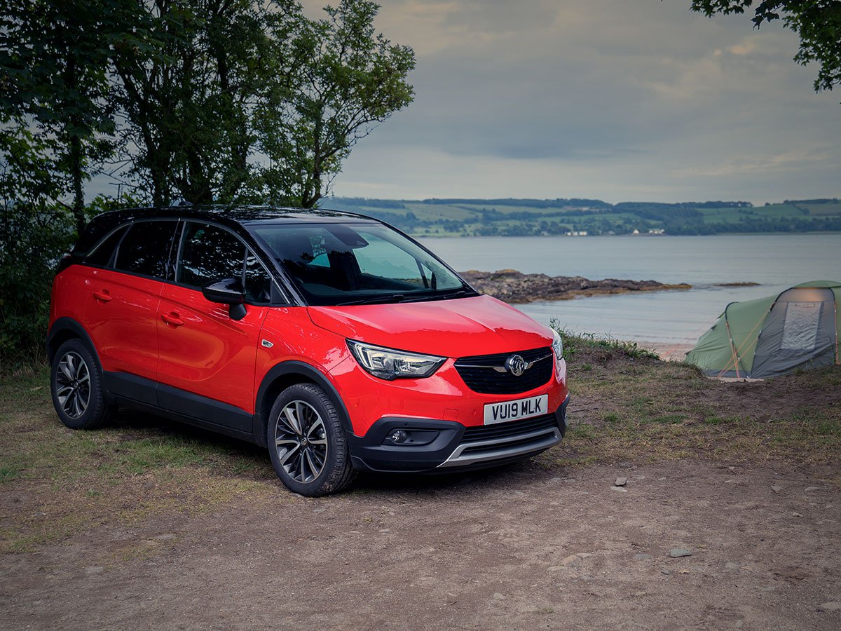 With plenty of space, tech and comfort, the Vauxhall Crossland X is perfect for family holidays