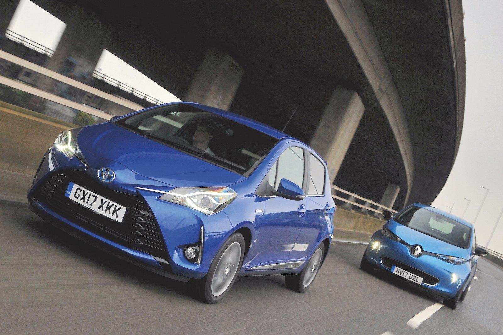 Used test: Renault Zoe vs Toyota Yaris Hybrid