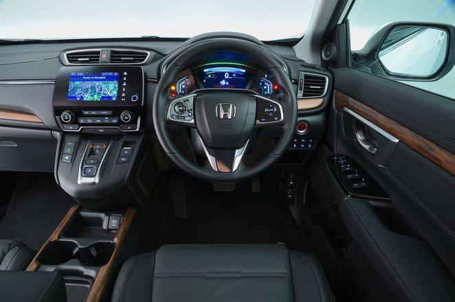 Honda CR-V Hybrid AWD SR - interior