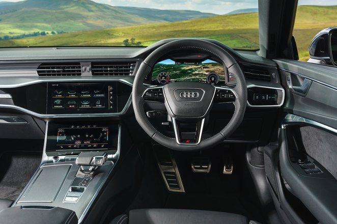 Audi A6 - interior