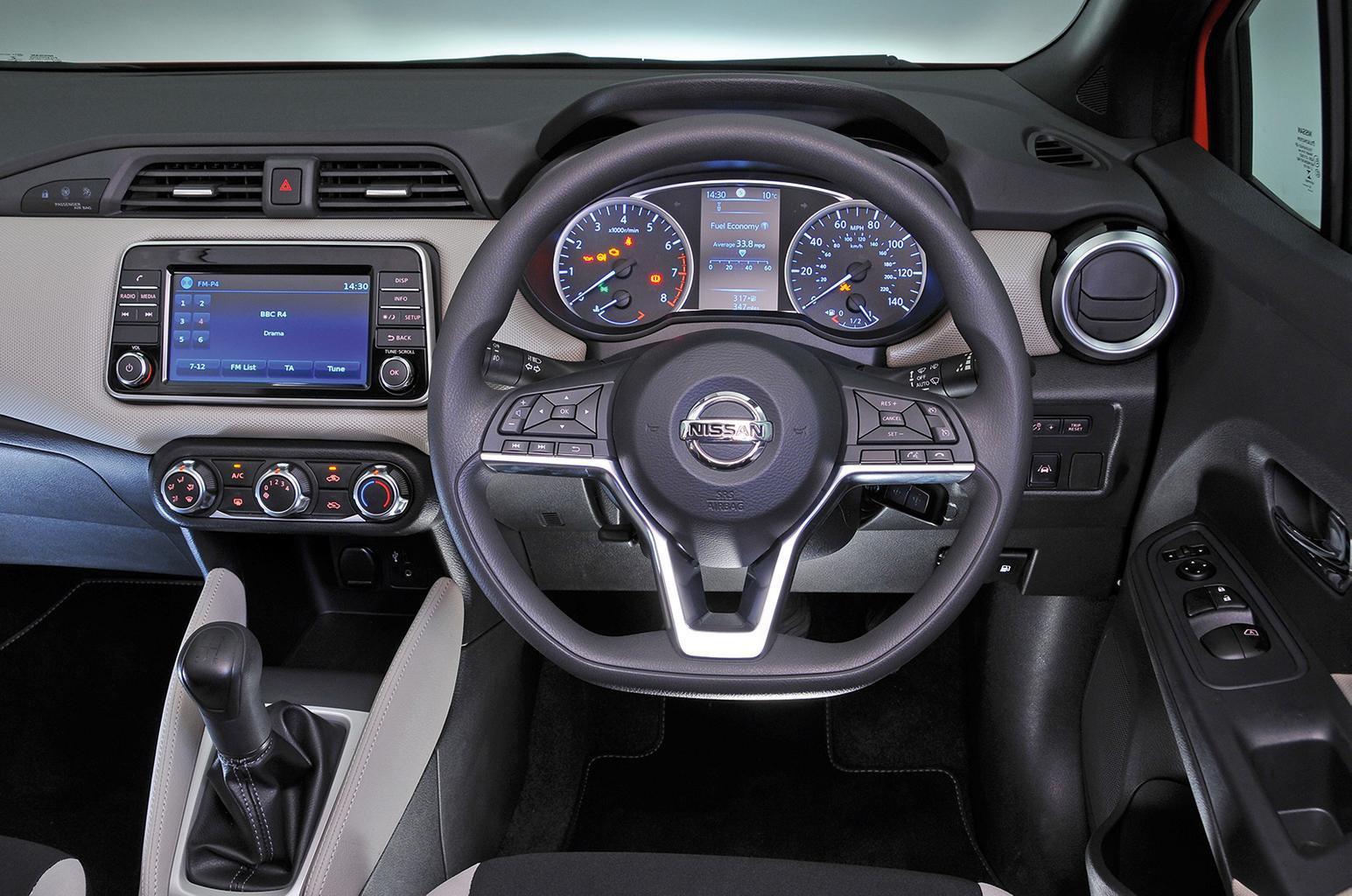 Nissan Micra - interior