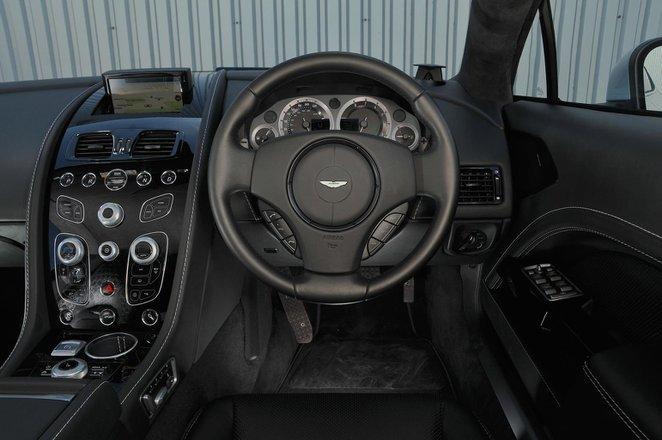 Aston Martin Rapide S - interior