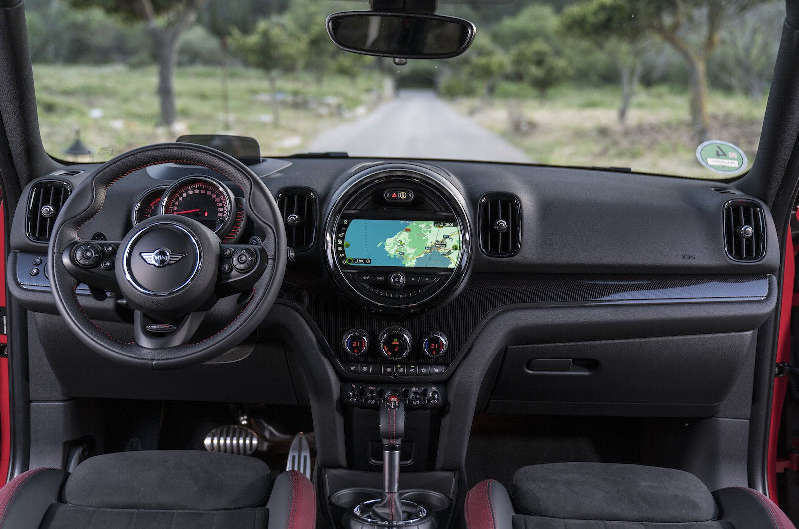 Mini Countryman John Cooper Works - interior
