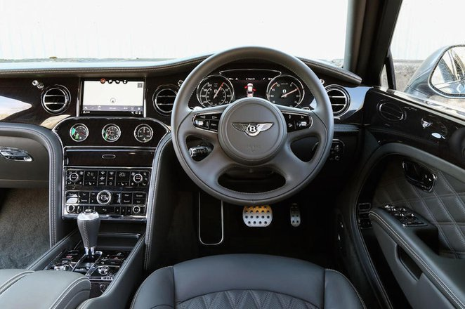 Bentley Mulsanne - interior