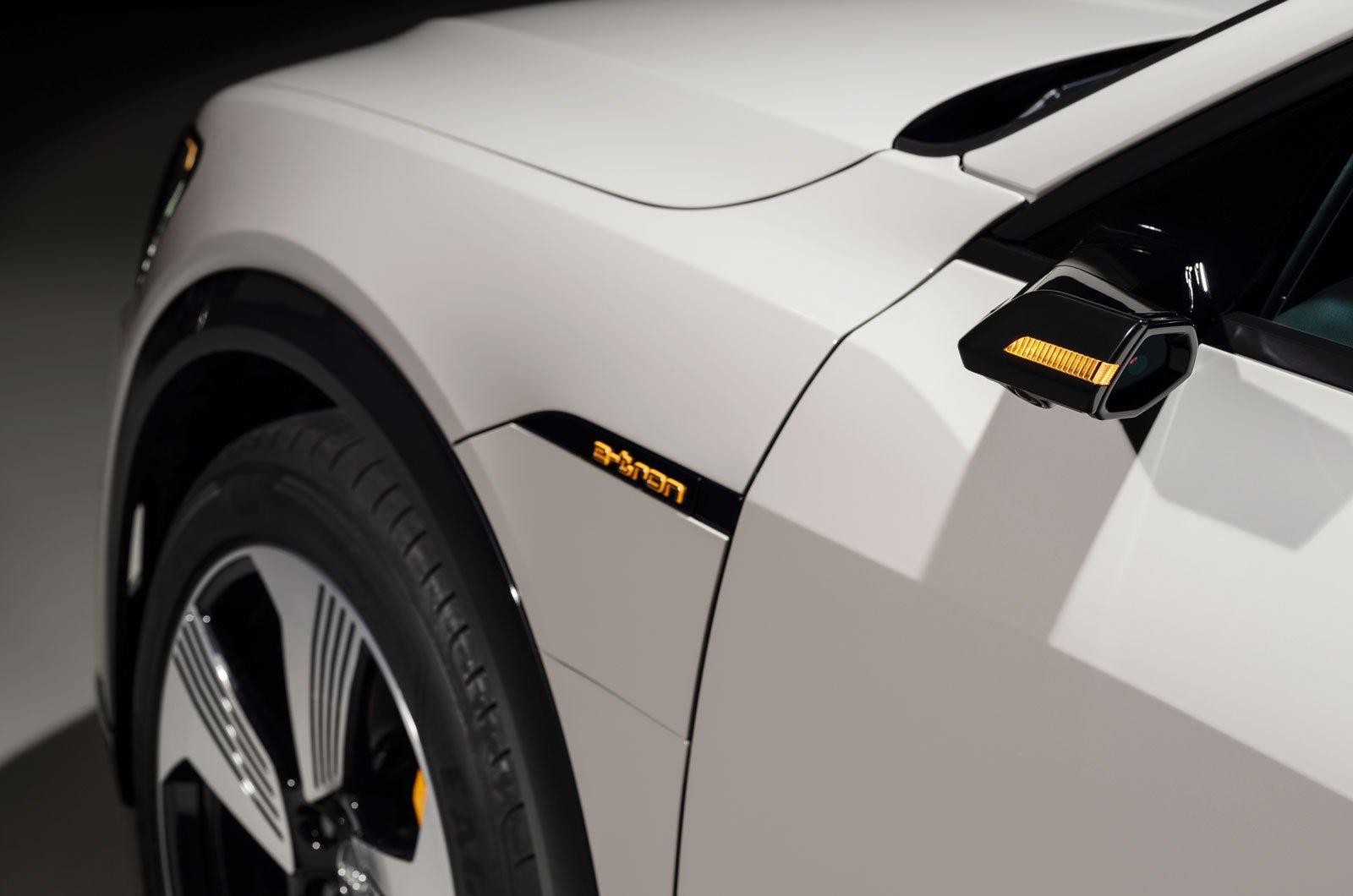 Audi E-Tron wing mirror