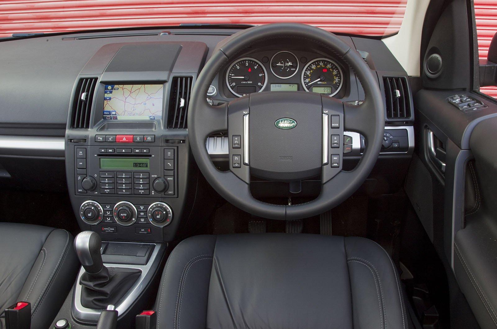 Land Rover Freelander - interior
