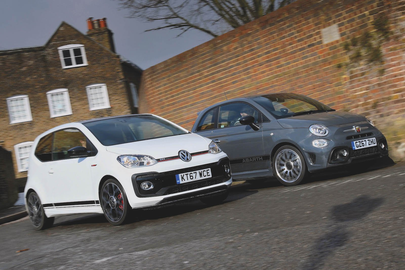 Used test: Abarth 595 vs Volkswagen Up GTI