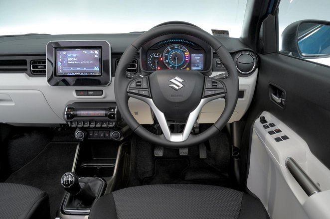 2017 Suzuki Ignis 1.2 SZ-T auto - interior