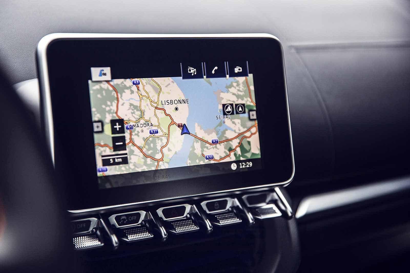 Alpine A110 S 2019 LHD infotainment