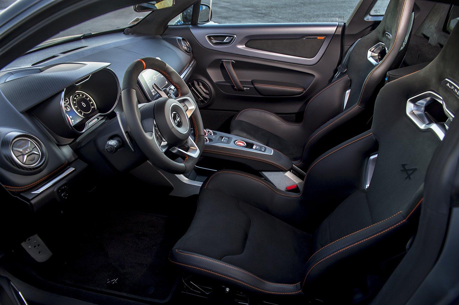 2019 Alpine A110S interior