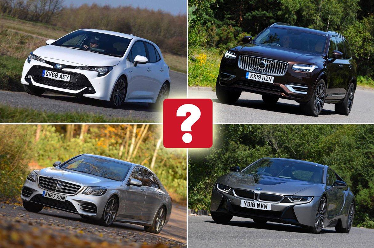 Best hybrid cars in each sector 2019