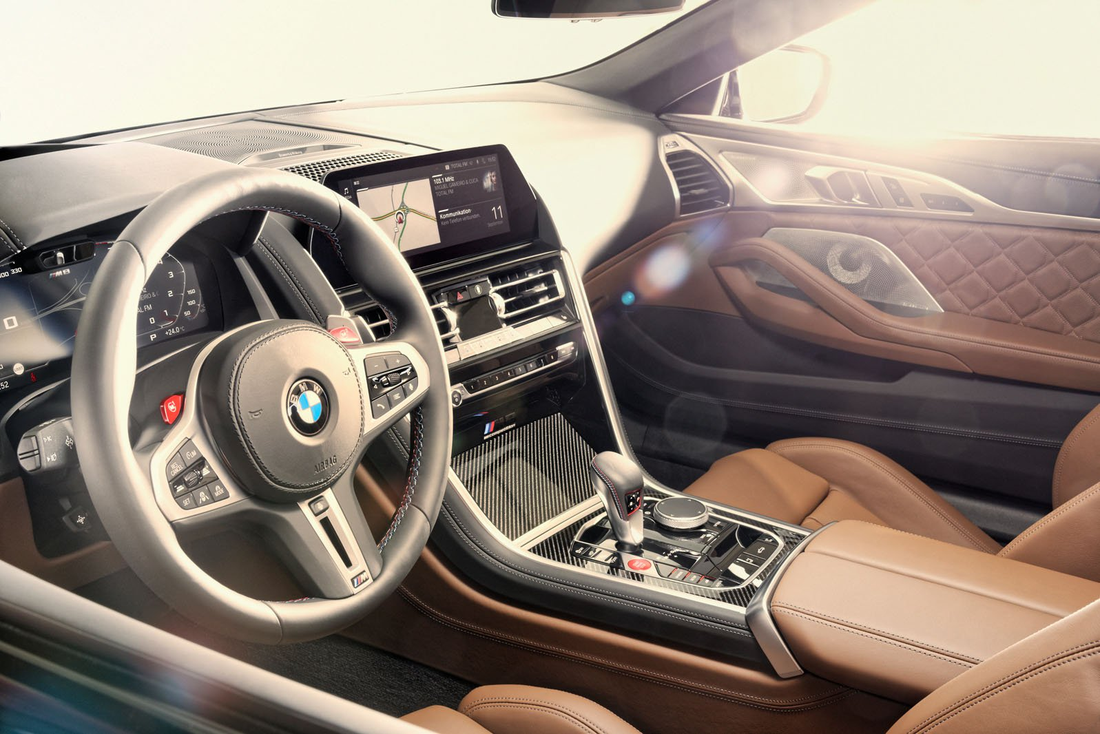 BMW M8 Convertible 2019 LHD dashboard
