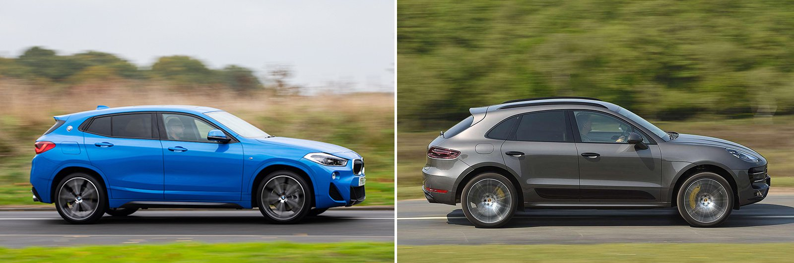 New BMW X2 vs used Porsche Macan – driving