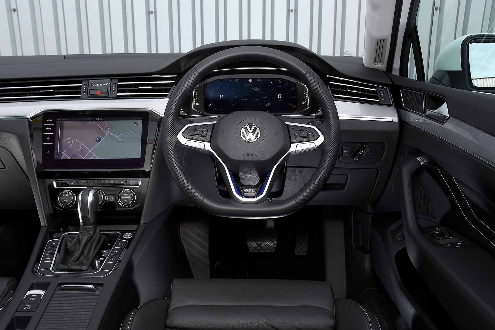 Volkswagen Passat Estate GTE 2019 RHD dashboard