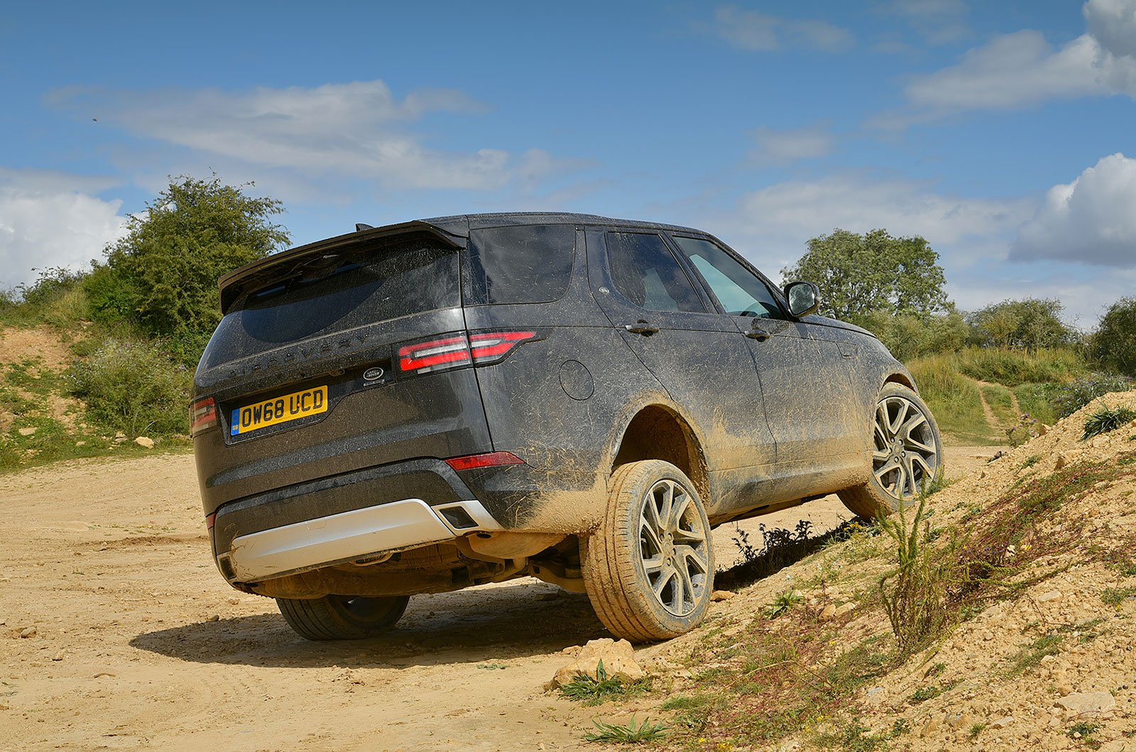 Land Rover Discovery off-road