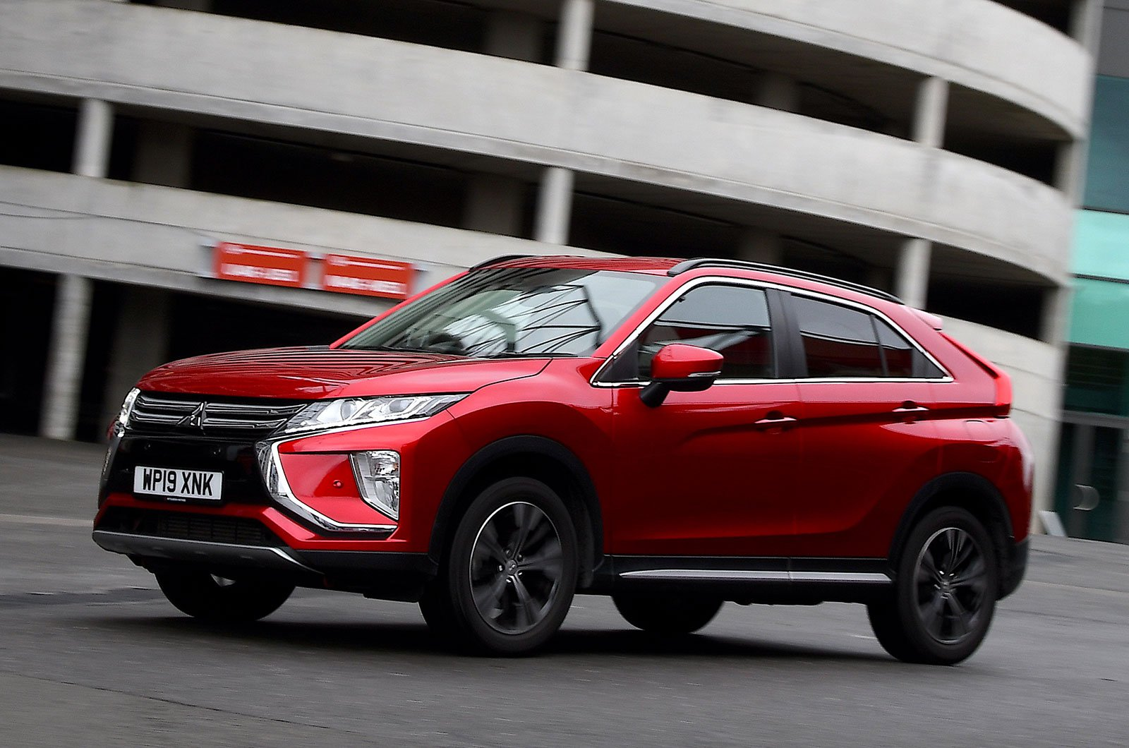 Mitsubishi Eclipse Cross driving