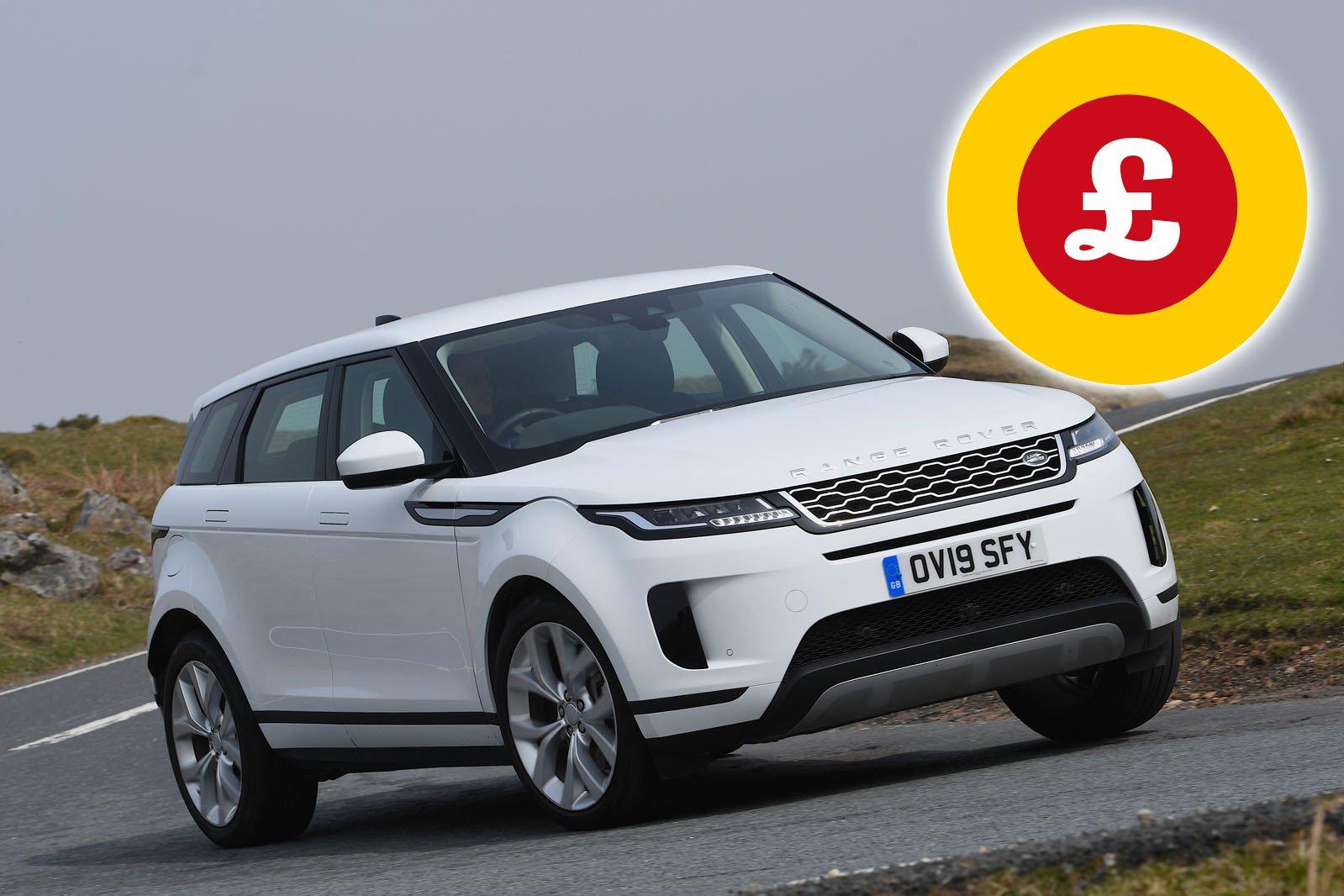 Range Rover Evoque SUV deals
