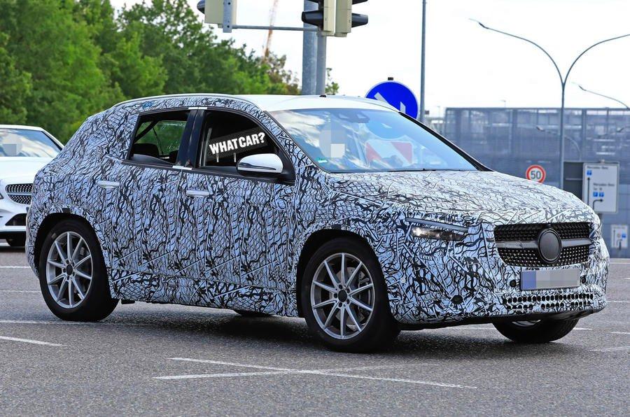 2020 Mercedes GLA prototype