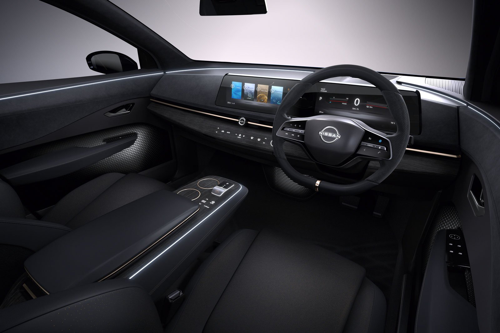 2021 Nissan Ariya interior and equipment