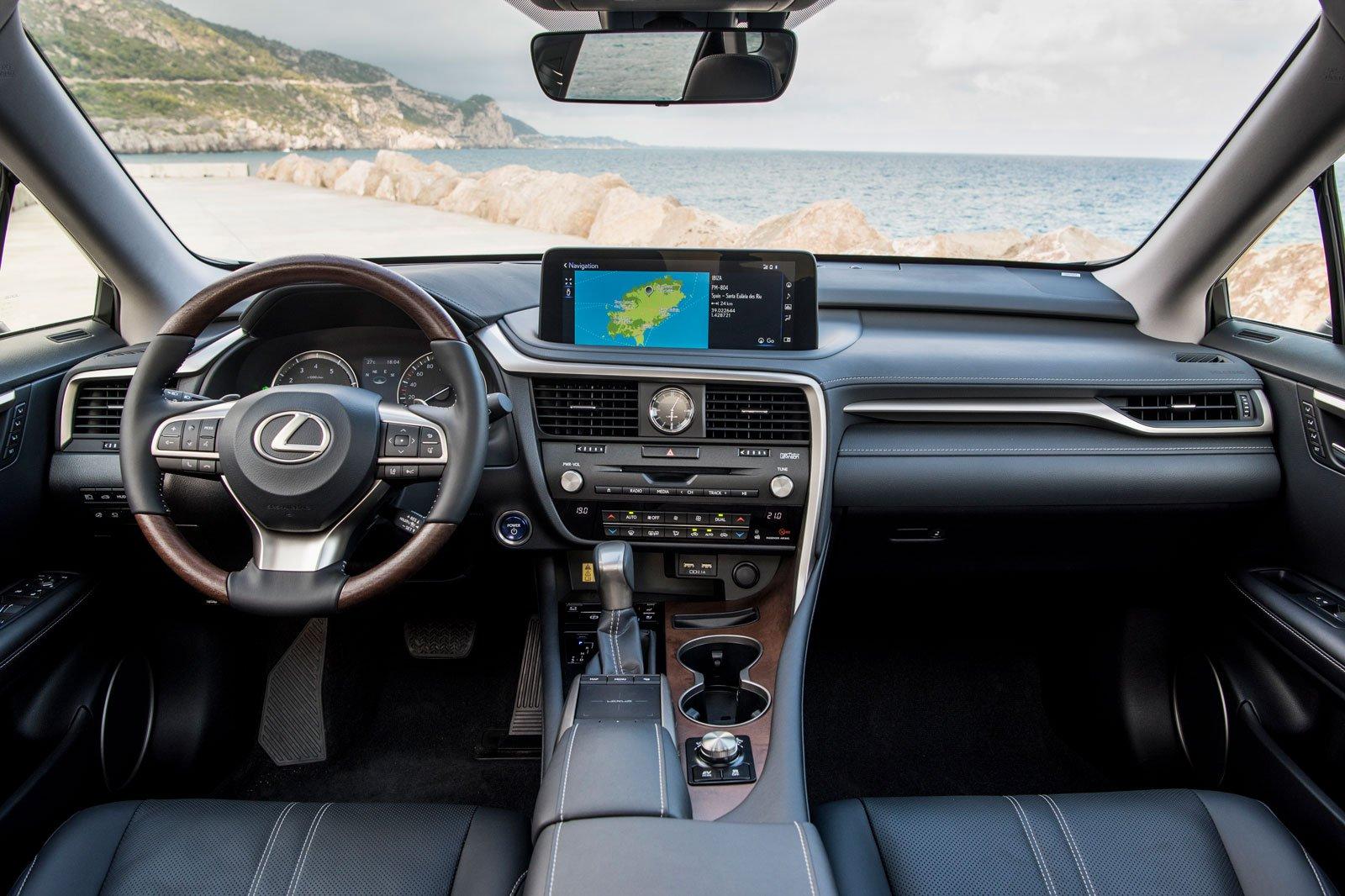 2020 lexus rx interior dashboard