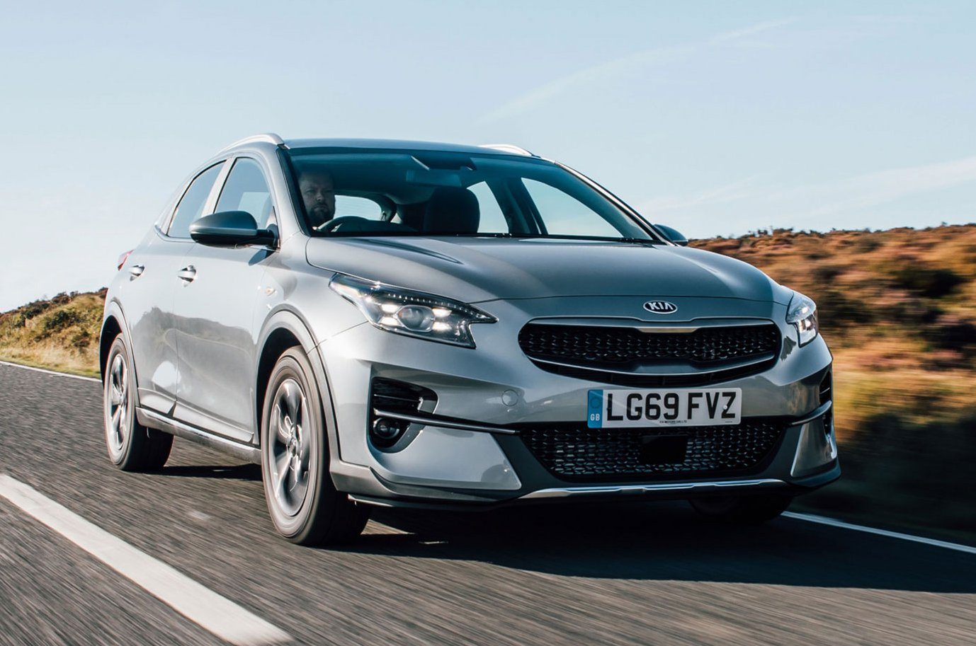 2019 Kia Xceed 1.0 '2' silver front