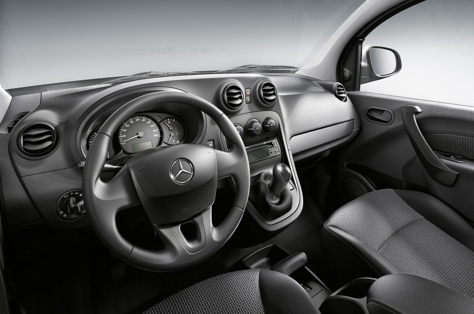 Mercedes Citan dashboard