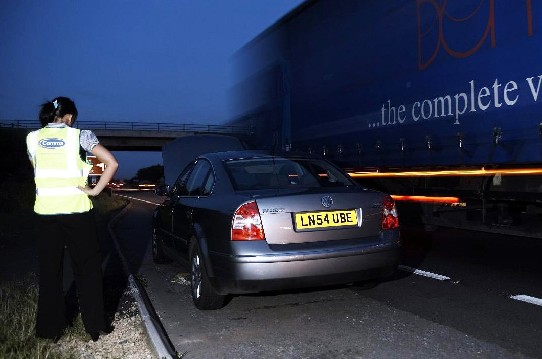 Motorway breakdown