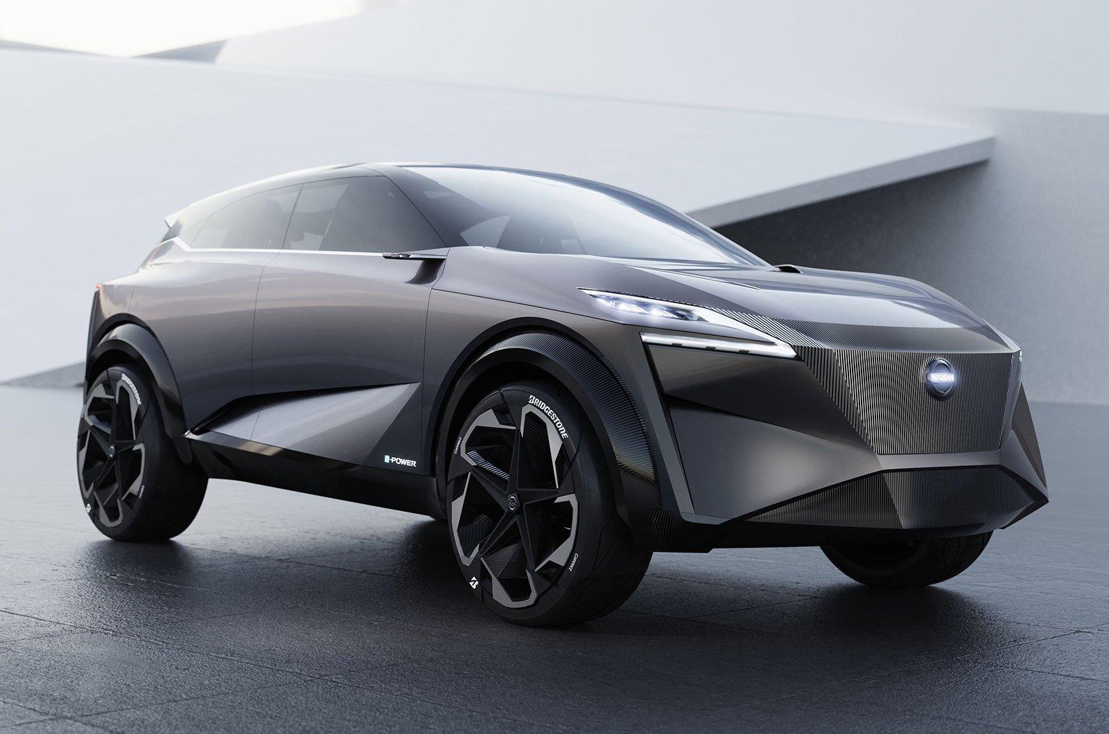 Nissan iMQ front