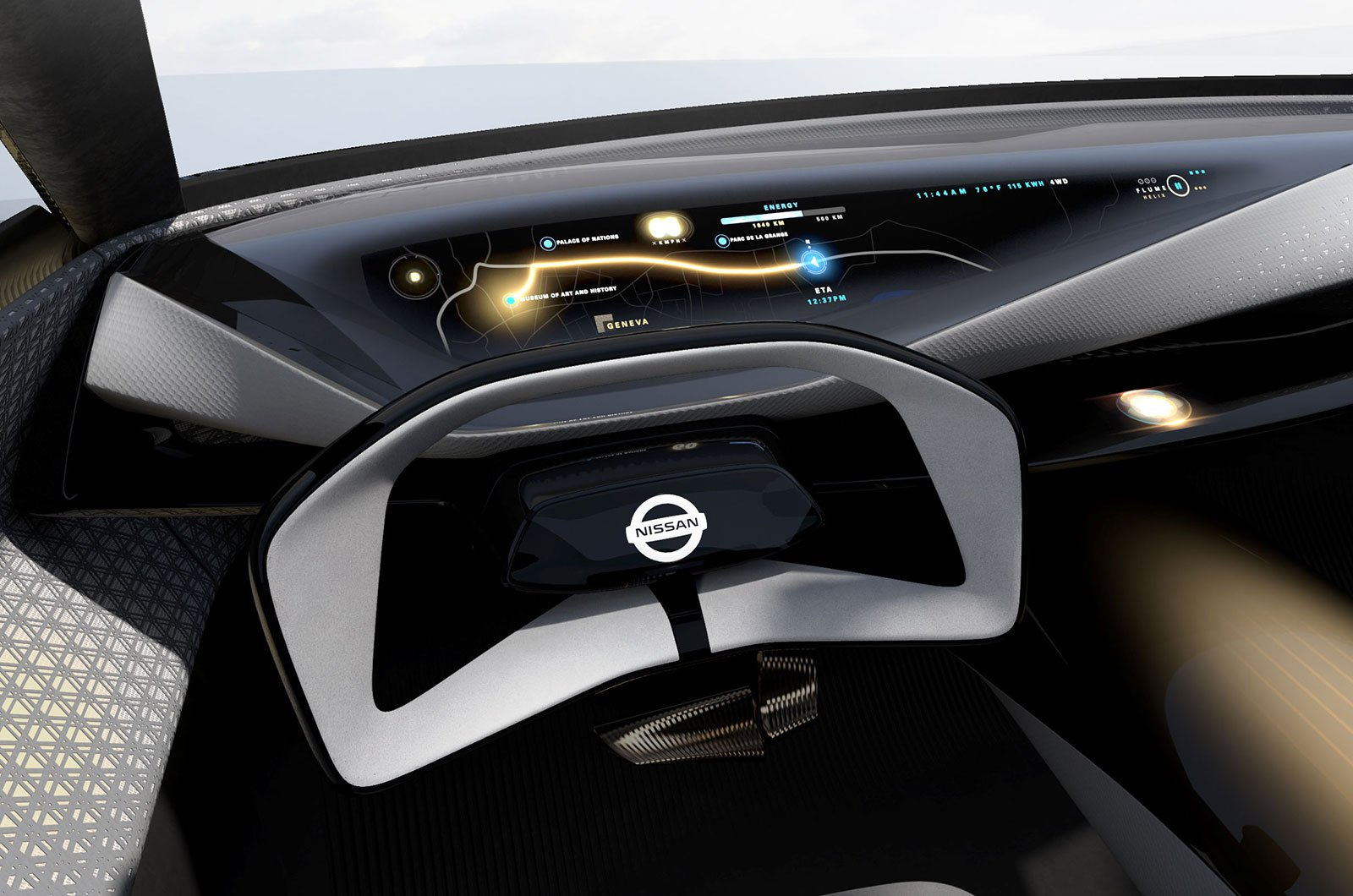 Nissan iMQ interior