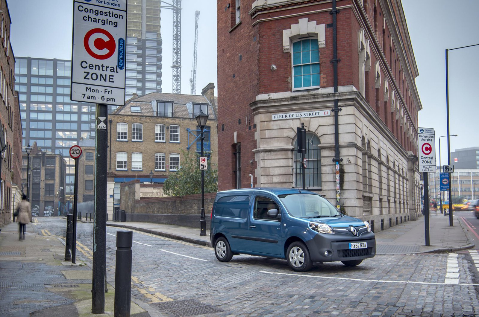 Renault Kangoo ZE in London