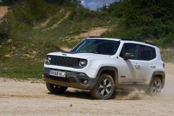 Jeep Renegade odd-road