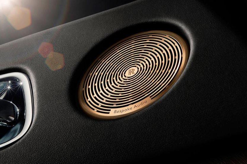 Rolls-Royce speaker