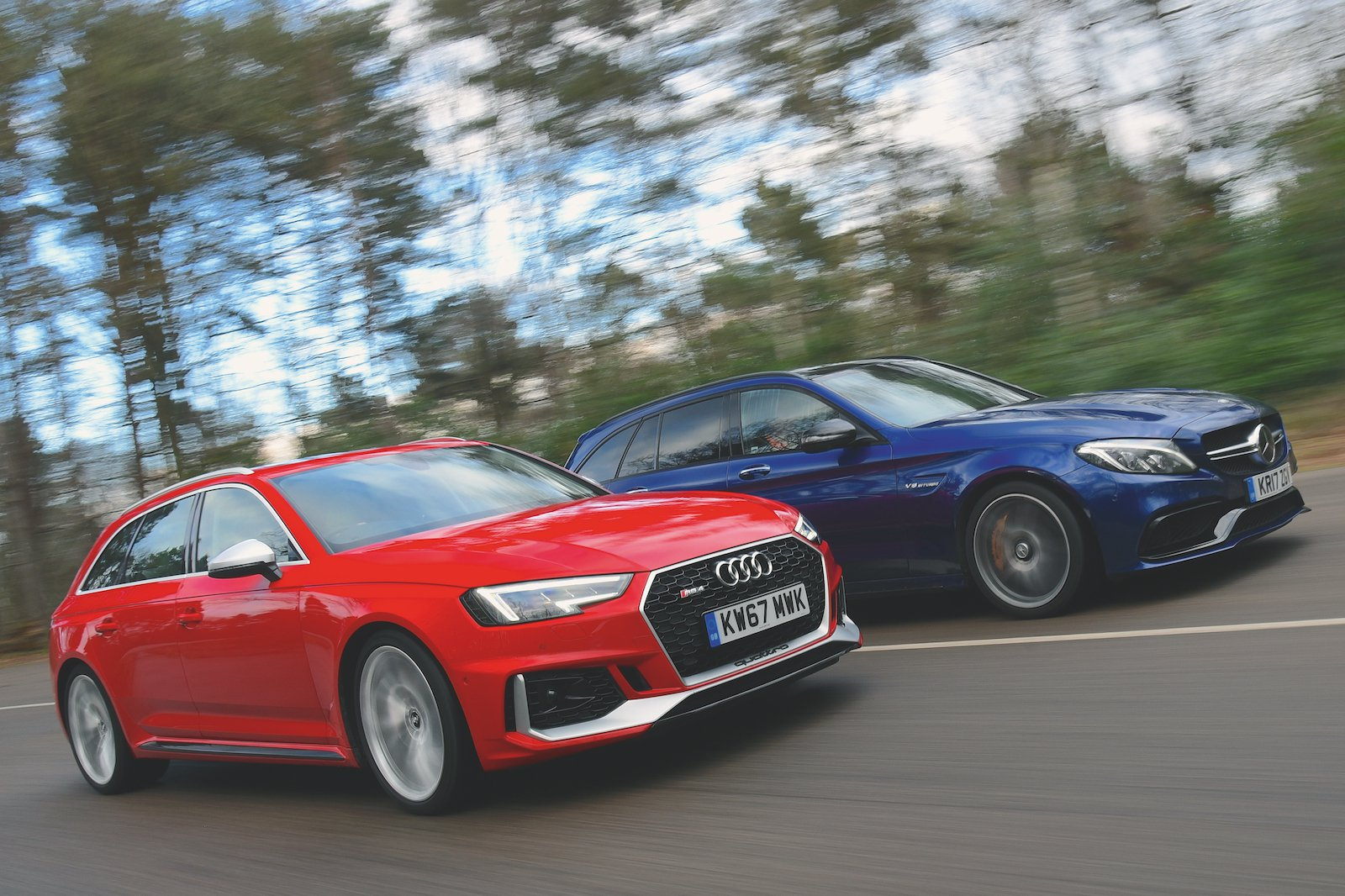 Used test: Audi RS4 Avant vs Mercedes-AMG C63 S Estate