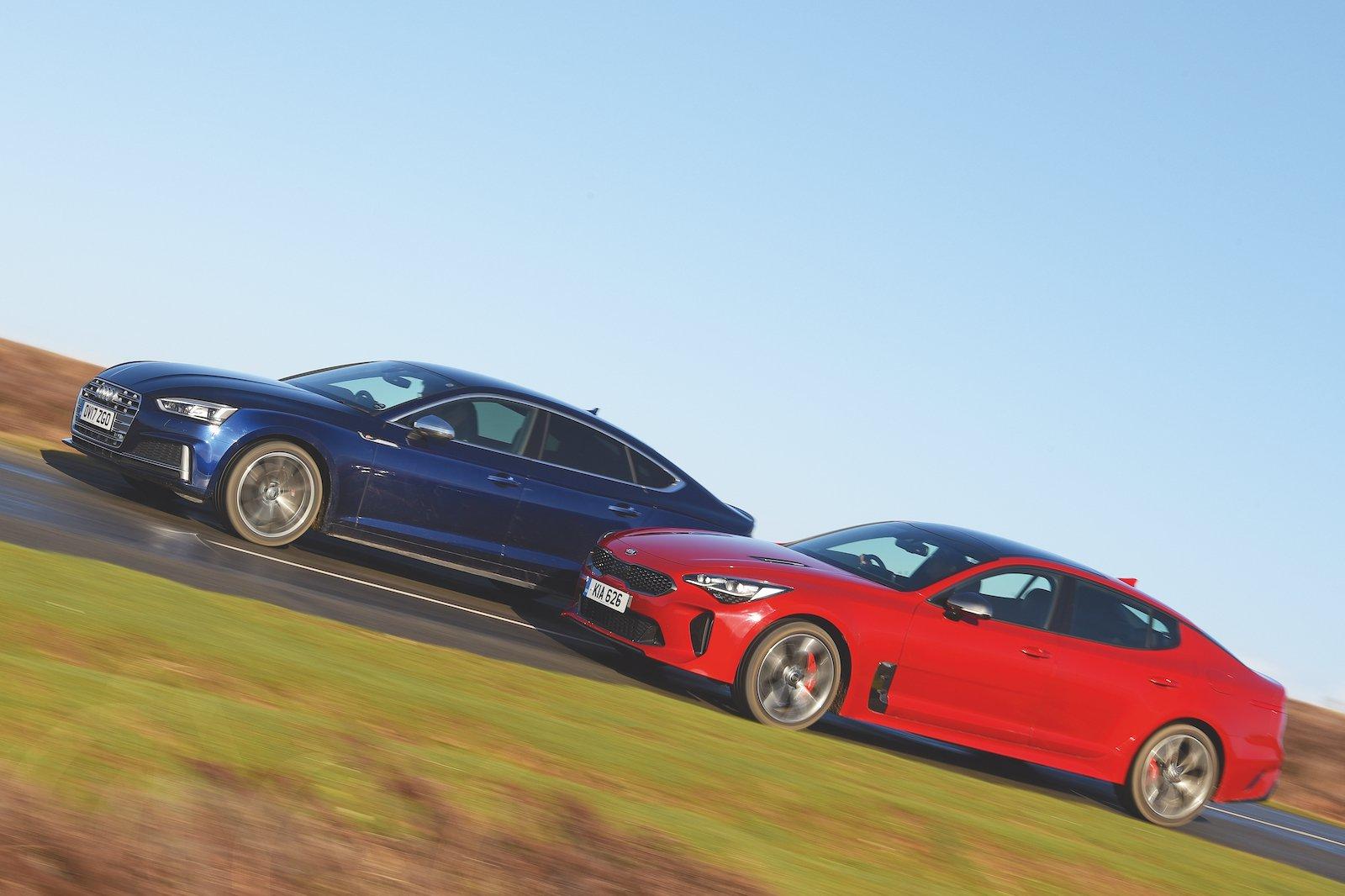 Used test: Audi S5 Sportback vs Kia Stinger GT S