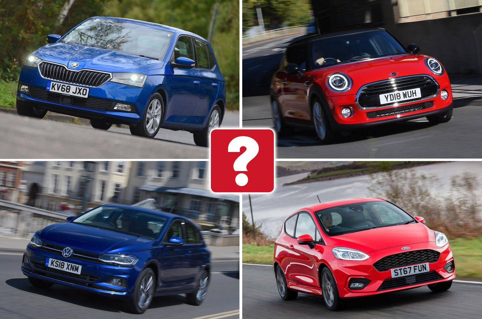 Skoda Fabia, Mini hatchback, Volkswagen Polo, Ford Fiesta