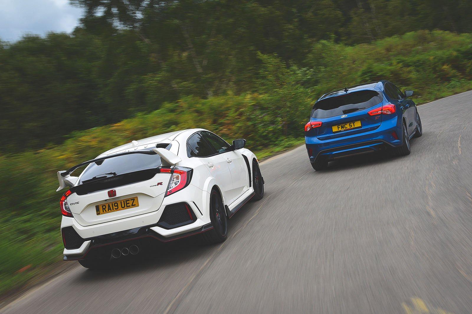 New Ford Focus ST vs Honda Civic Type R