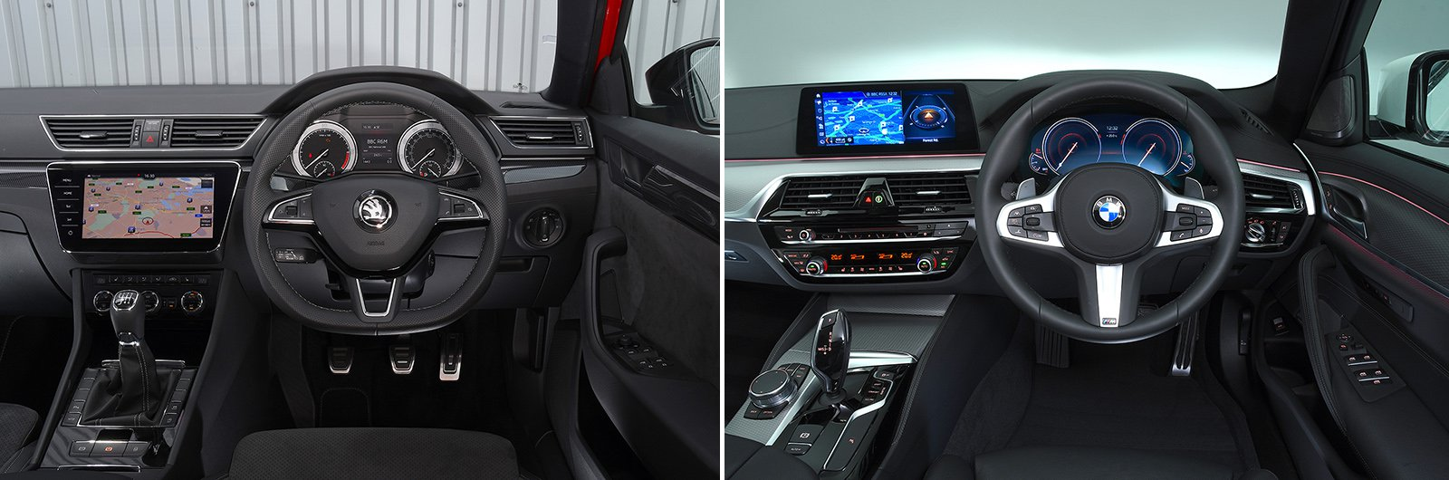 Superb 5 Series interior