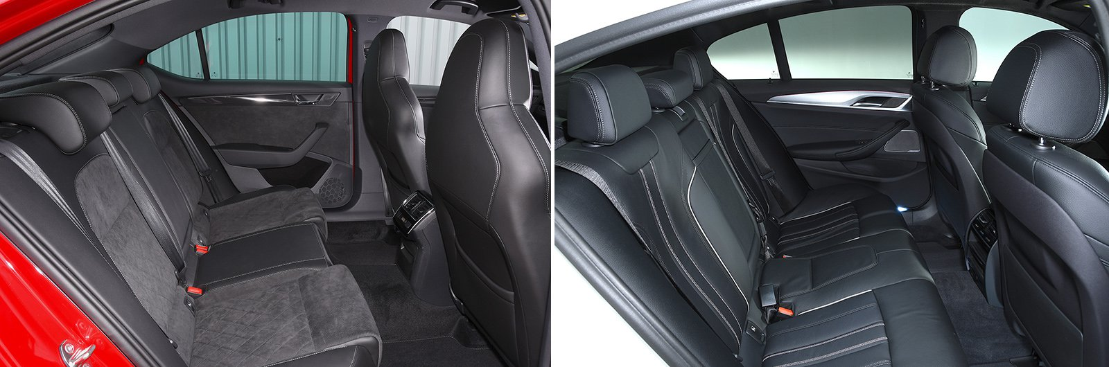 Superb 5 Series rear seats