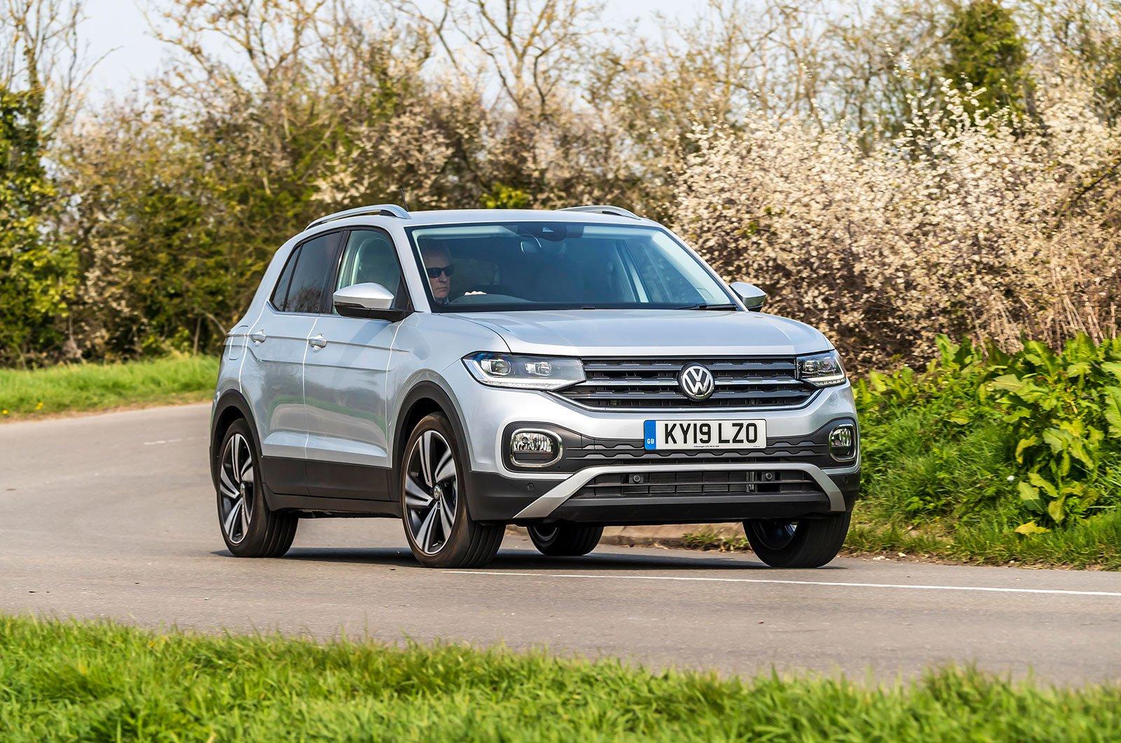 Volkswagen T-Cross cornering