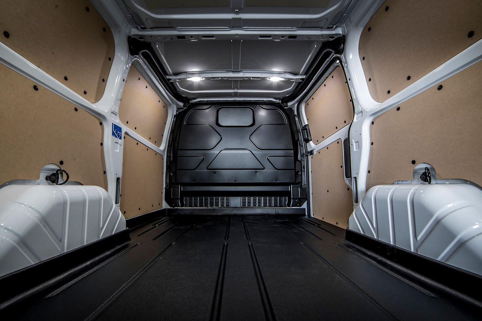 Ford Transit Custom load area