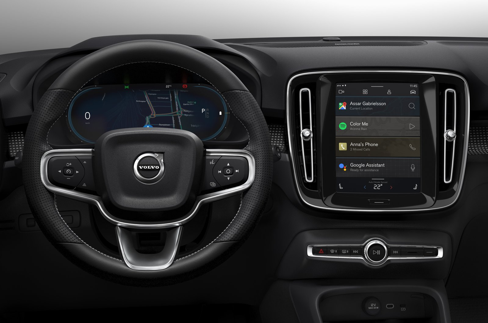 2020 Volvo XC40 P8 Recharge - dashboard