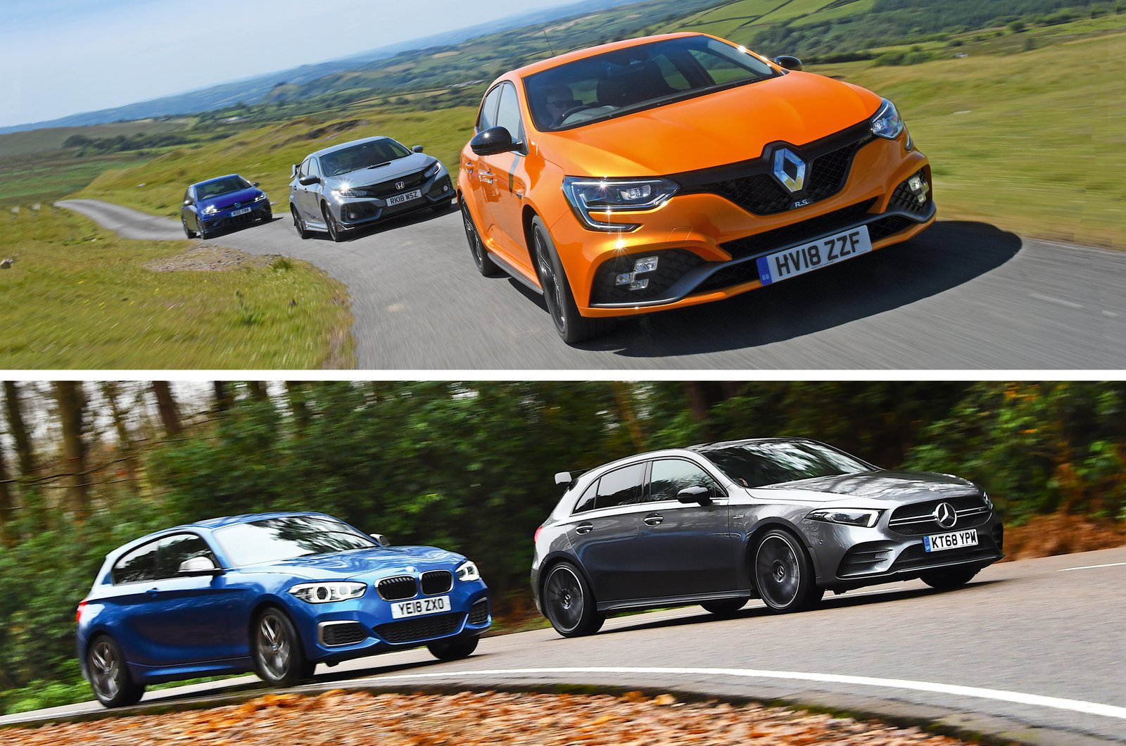 Hot hatch compilation image