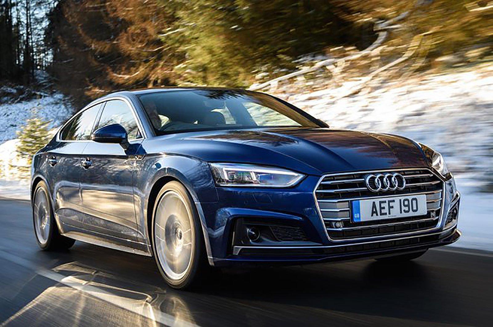 Audi A5 Sportback front