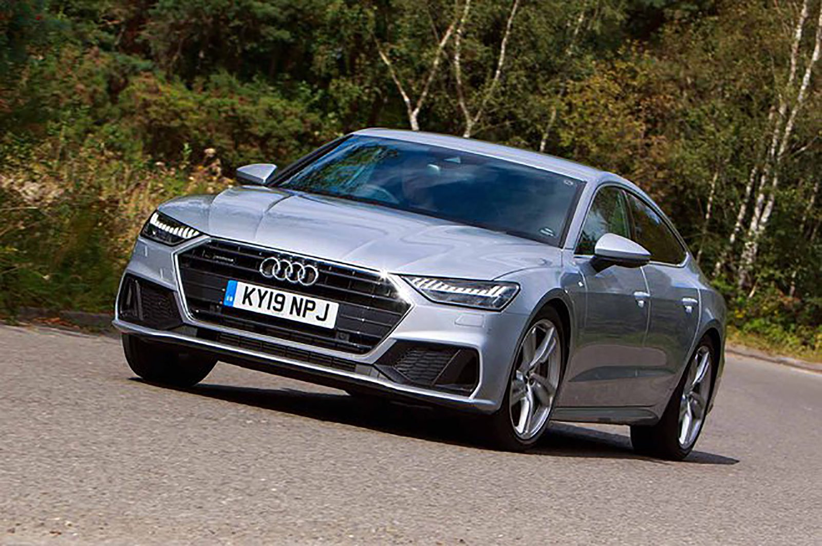 Audi A7 front