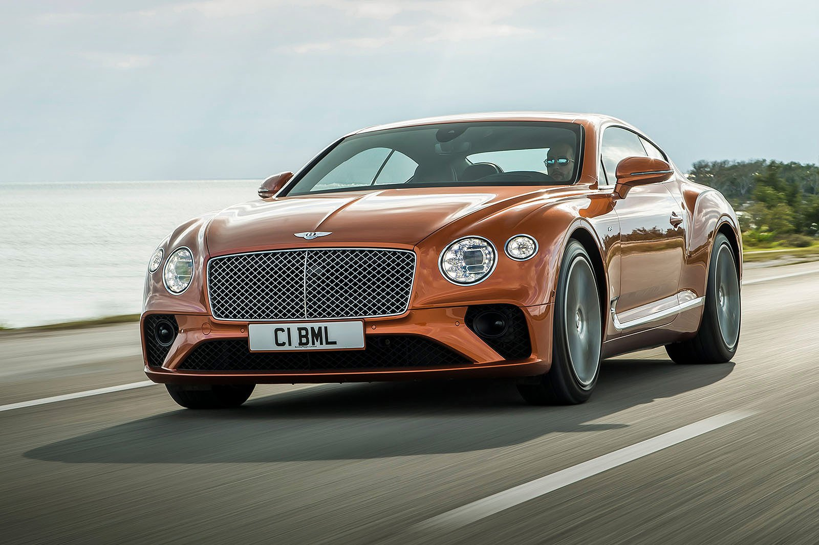 Bentley Continental GT V8 front three quarters