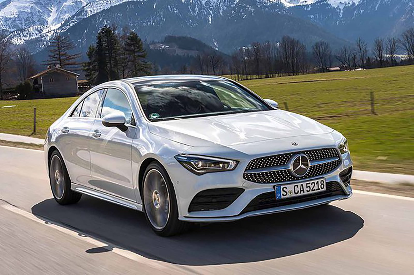 Mercedes-Benz CLA front three quarters