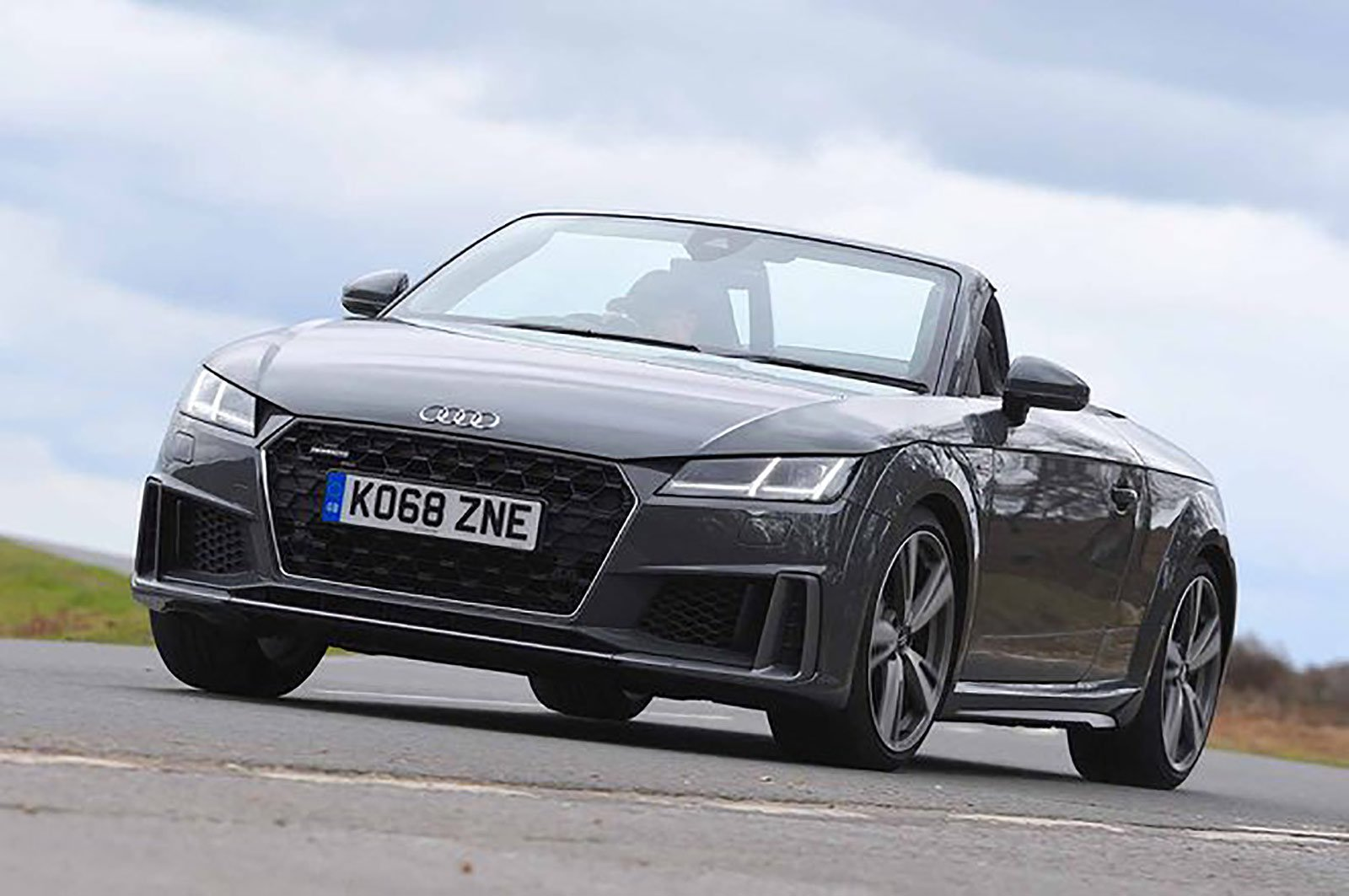 Audi TT Roadster front three quarters